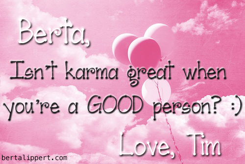 good-karma berta lippert