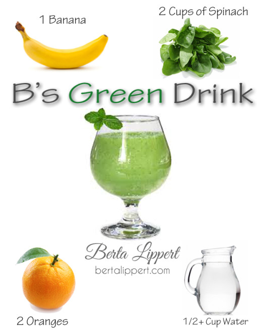 healthy yummy easy green drink