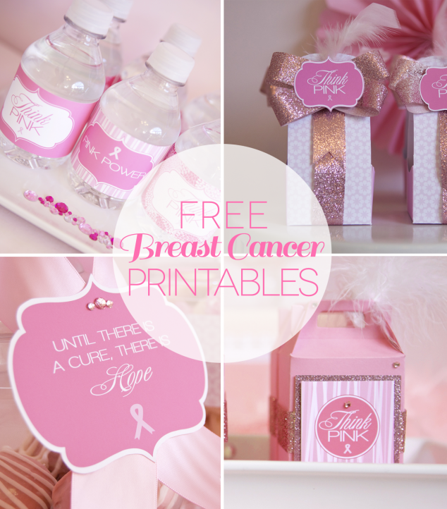 breast cancer printables