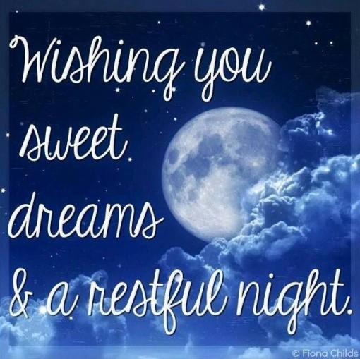 Berta Lippert | Wishing You Sweet Dreams & A Restful Night ...
