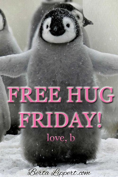 Free Hug Friday