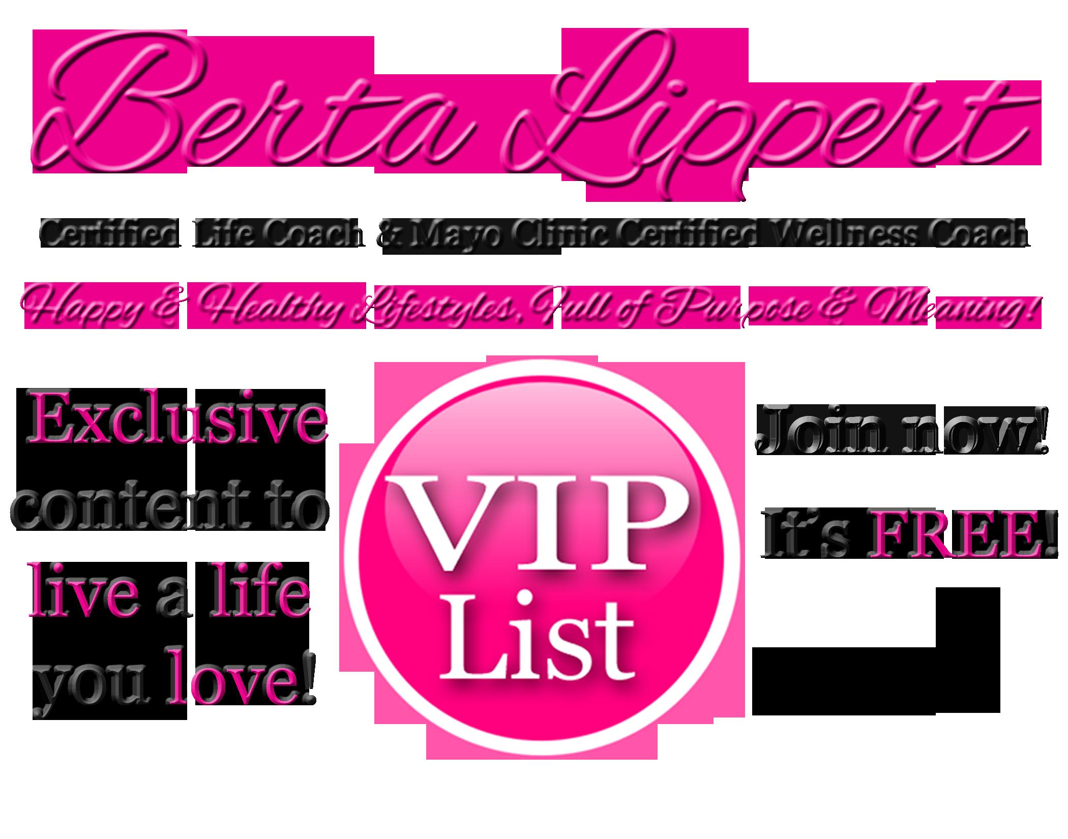 Berta Lippert Certified Life Coach Amp Mayo Clinic