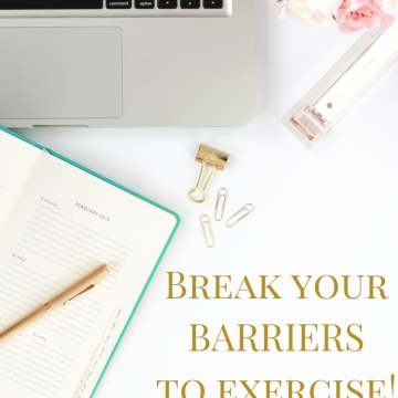 Break Your Barriers To Exercise Worksheet