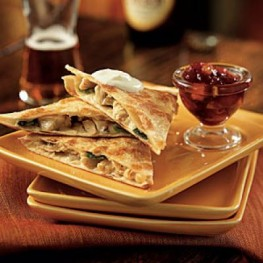 Jack Quesadillas Cranberry Salsa